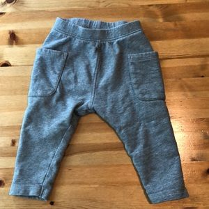Hanna Andersson toddler boy grey pants